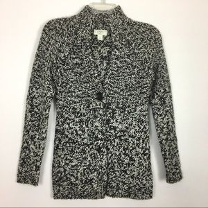 Ann Taylor Loft Wool blend one button Cardigan SP